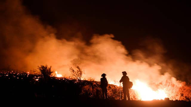 Race against time to contain California's Holy Fire