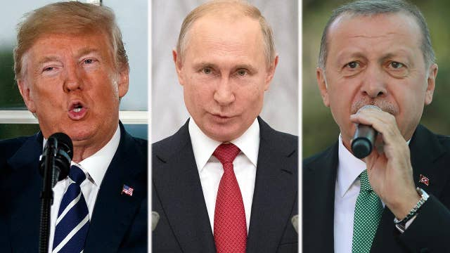 Russia, Turkey accuse President Trump of 'economic war'