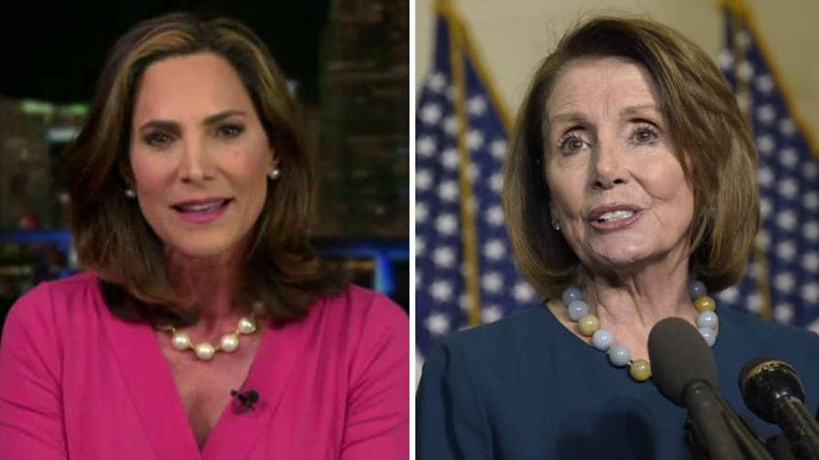 Congressional candidate Elvira Salazar responds to House Minority Leader Nancy Pelosi's pitch that voters should back Democrats in November because it will help illegal immigrants. #Tucker