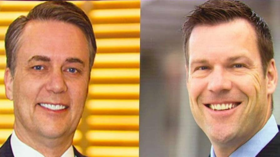 Incumbent Republican Kansas Gov. Jeff Colyer says he wants to make sure that election rules are followed in his GOP gubernatorial primary battle with Kansas Secretary of State Kris Kobach.