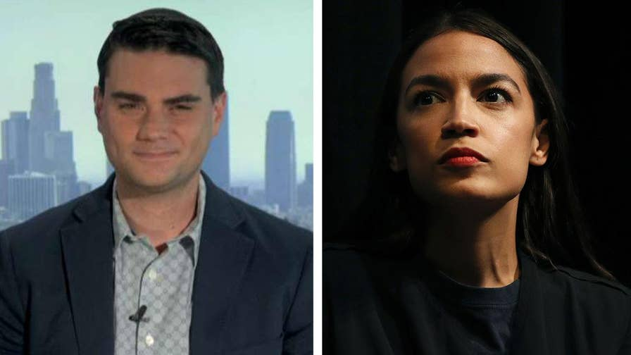 Ben Shapiro reacts on 'Your World' after Alexandria Ocasio-Cortez compares his debate challenge to a 'catcall.'