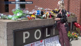 The suspect was seriously wounded during a gunfight with police in New Brunswick, Canada.