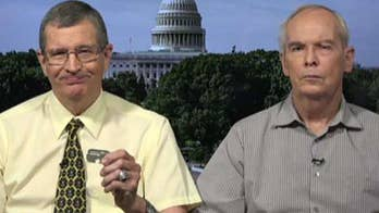 Sons of missing U.S. Korean War soldier on getting their father's dog tag.