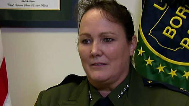 Border Patrol names its first female chief