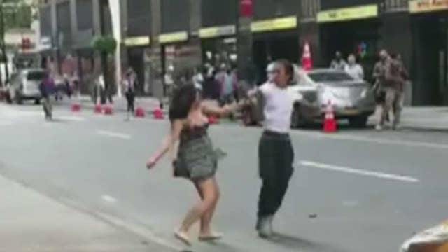 NYC cab driver arrested after road rage brawl