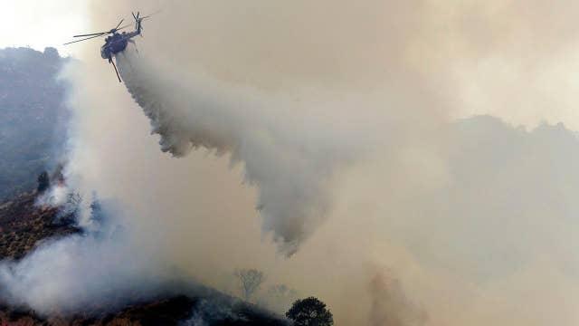 California wildfires spark political debate