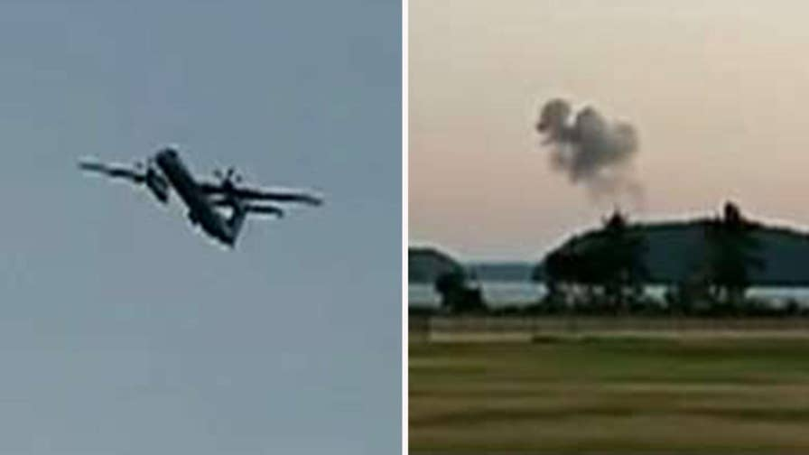 Pierce County Sheriff's Department says the 'suicidal' 29-year-old male stole the empty turboprop from Seattle's SeaTac airport, performed an unauthorized takeoff before crashing near Ketron Island, Washington. F-15s were scrambled to intercept the plane, but terrorism is not suspected as a motive.