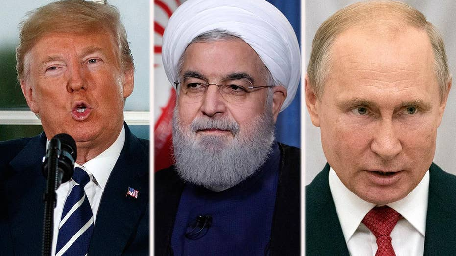 Trump administration steps up sanctions on Iran, Russia