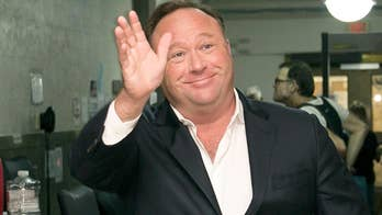 Accuse Infowars founder of hate speech.