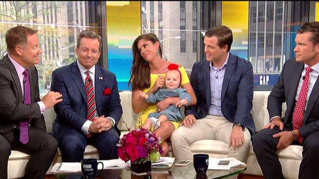 'Fox & Friends' celebrates Abby Huntsman