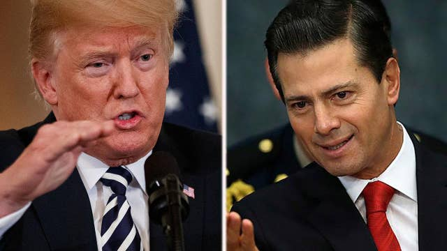 Trump says deal with Mexico is 'coming along nicely'