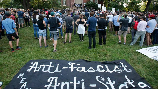 Police respond to rallies in DC and Charlottesville