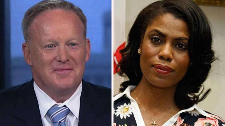 Spicer slams Omarosa over book