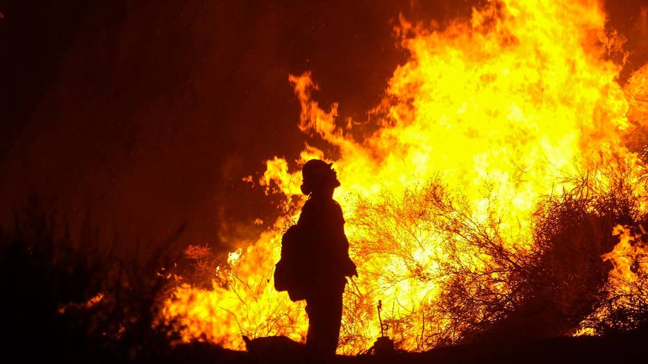 Crews gaining ground on deadly CA Holy Fire
