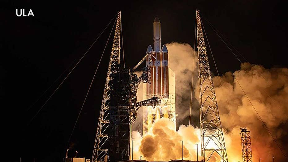 NASA's Parker Solar Probe blasts off on its mission to the Sun