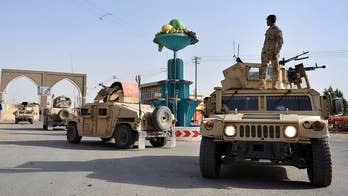 Massive Taliban assault overwhelms government forces in the provincial capital of Ghazni; Benjamin Hall reports.