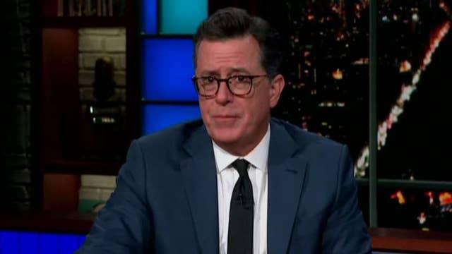 Stephen Colbert's botched joke