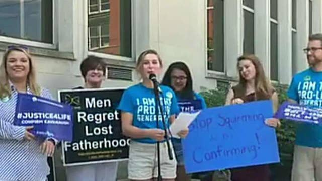 Students rally nationwide in support of Kavanaugh nomination