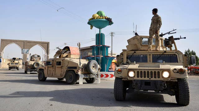 Taliban fighters occupy parts of key Afghan city