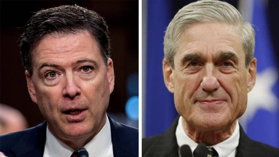 Mueller and Comey are model public servants, we're told.