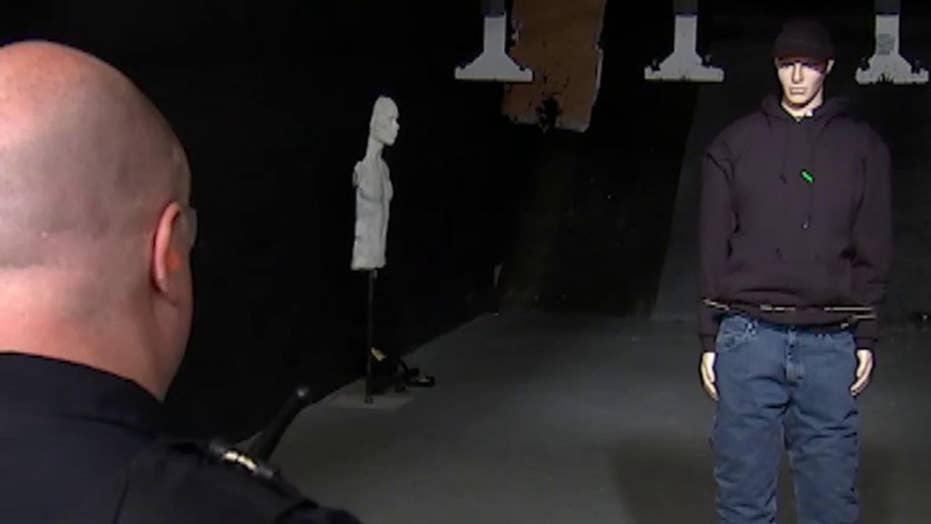 Las Vegas company unveils new restraint weapon for police
