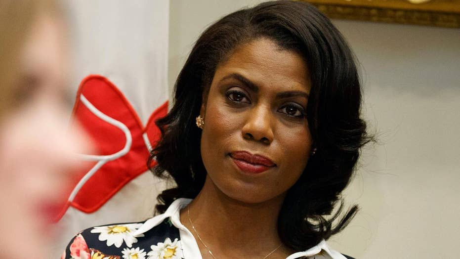 President Trump slams 'not smart' Omarosa