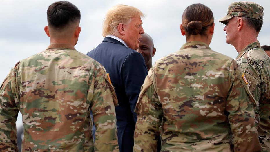 Trump: Our freedom depends upon might of the military