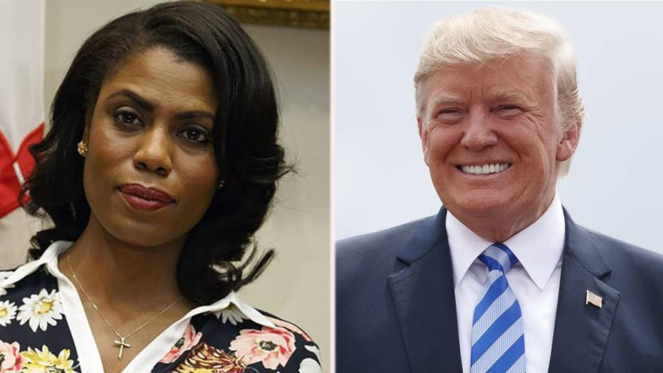 Trump lashes out at 'wacky Omarosa' over new book