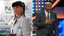 """Former """"NCIS"""" actress Pauley Perrette took to Twitter with some harsh words for Steve Harvey's game show """"Family Feud,"""" calling out the show's """"filthy"""" sex questions."""