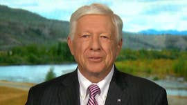 President Trump endorsed Republican Foster Friess, a wealthy conservative businessman, in Wyoming's gubernatorial primary on Tuesday.