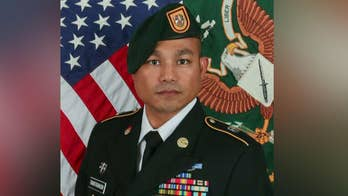 Sgt. 1st Class Reymund Transfiguracion died from wounds received when an I.E.D. exploded while he was on patrol in Afghanistan.