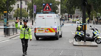 Male suspect arrested in a car ramming outside Parliament during rush hour; Benjamin Hall reports on the latest in the investigation.