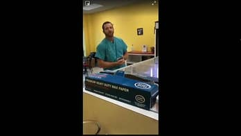 Mississippi Baptist Medical Center employee Kyle Thomas has been fired after this video of him calling Donut Palace employee Keaundrea Wardlaw the N-word multiple times went viral.