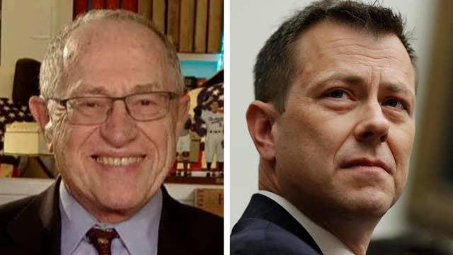 Dershowitz: Strzok's big mistake was not recusing himself