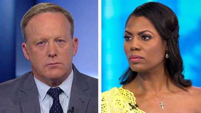 Sean Spicer slams media's celebrity treatment of Omarosa
