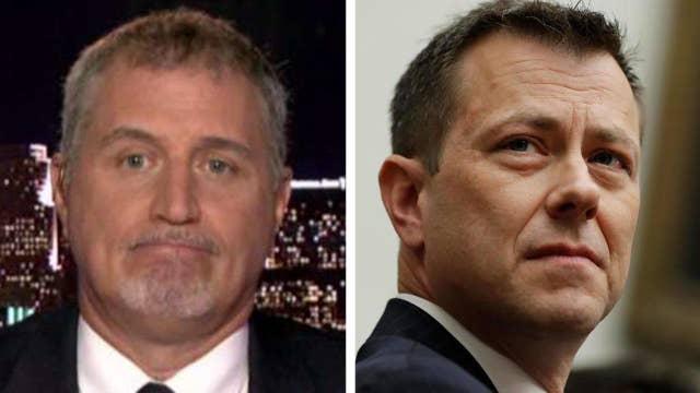 Former FBI agent praises decision to fire Peter Strzok