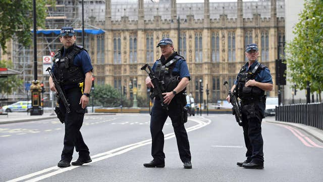 Police treating London car crash as act of terror