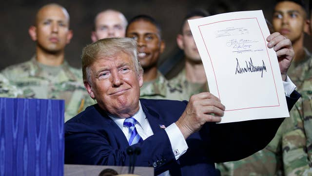 Trump signs $716 billion National Defense Authorization Act