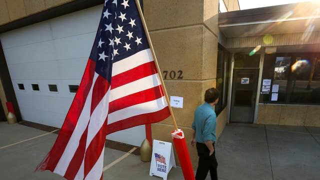 Four states vote ahead of November midterms