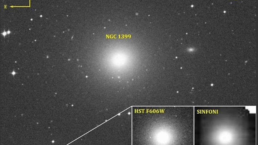 Scientists are stunned by a supermassive black hole that has been found at the center of a tiny galaxy called Fornax UCD3.