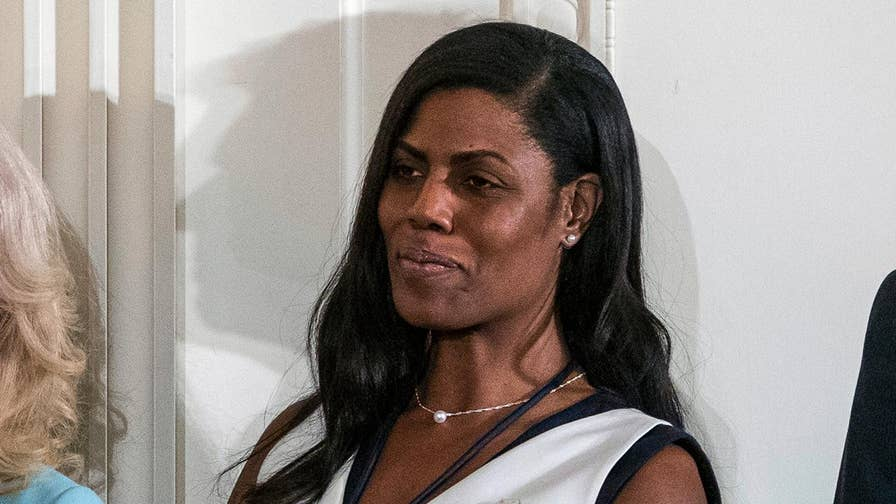 Trump campaign says Omarosa Manigault-Newman breached a 2016 confidentiality agreement as the president escalates the war of words over the tell-all book.