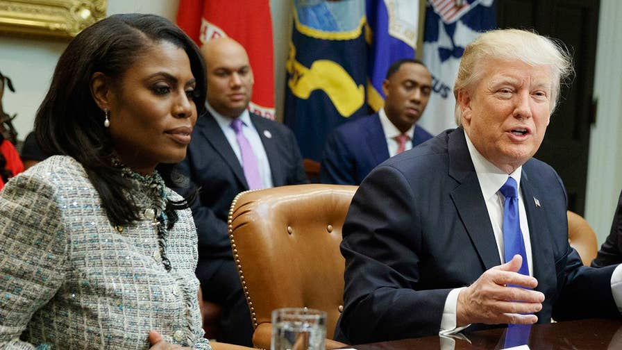 Former White House aide Omarosa Manigault Newman accused of violating confidentiality agreement; Laura Ingle reports from New York.