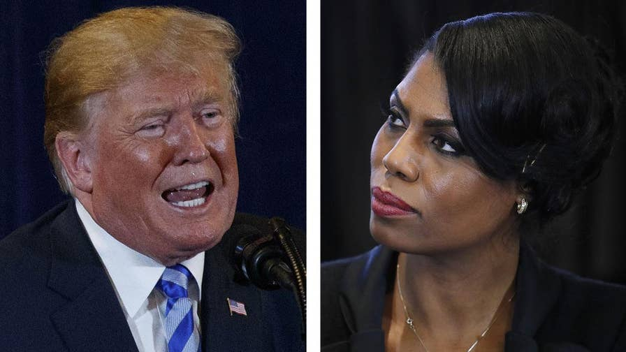 The feud between President Trump and Omarosa Manigault Newman escalates on Twitter and network television; reaction and analysis on 'The Five.'
