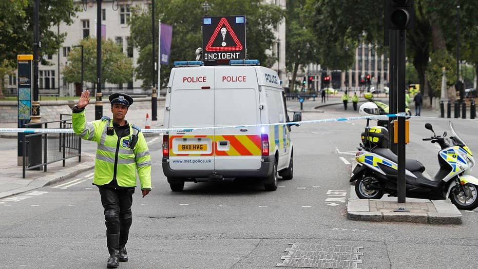 10 injured in London crash being treated as terror incident
