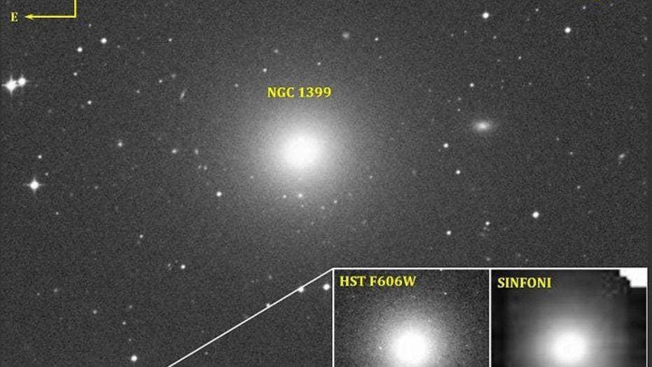 Massive black hole found in tiny galaxy