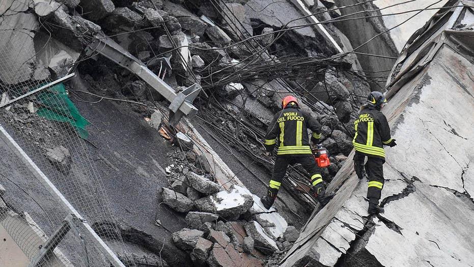Death toll rises in Genoa, Italy bridge collapse