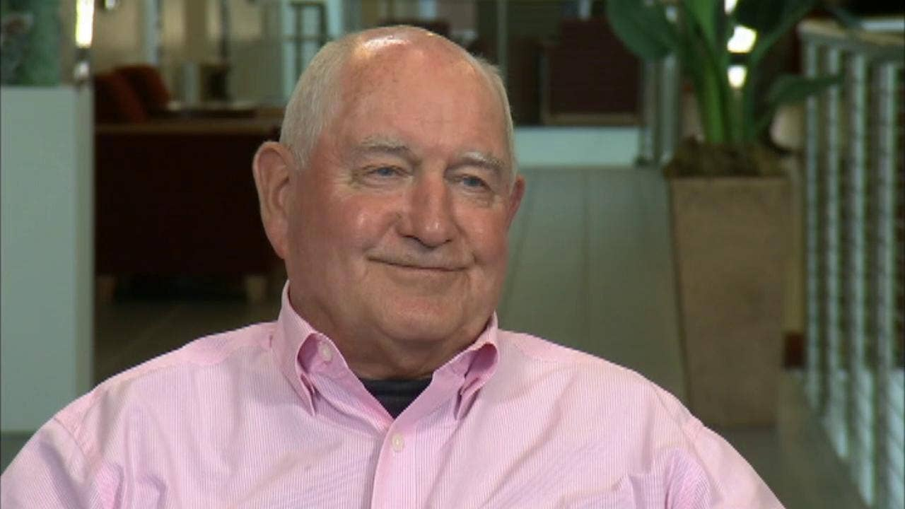 Agriculture Secretary Sonny Perdue says tariffs 'like weight loss'