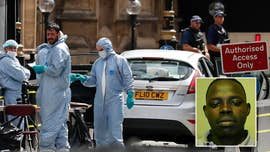 The suspect in a car ramming outside Parliament that was being treated as a terror incident has been named as Salih Khater, according to British media reports Wednesday.