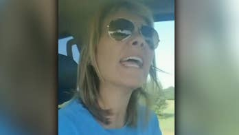 Viral video from author and comedian Susannah B. Lewis parodies frustrations parents go through when dealing with school drop-off lanes.