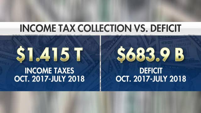 Federal government still in debt after record tax collection